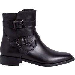 Boots plates à boucles, cuir - tamaris - Modalova