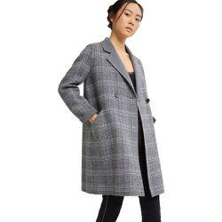 Manteau pied de poule en laine - BURTON OF LONDON - Modalova