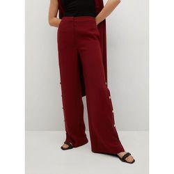 Pantalon boutonné sur les côtés - Mango - Modalova