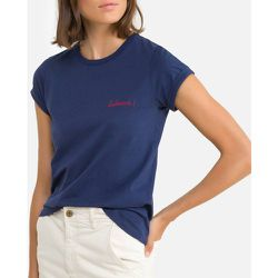 Tee shirt col rond manches courtes brodé - MAISON LABICHE - Modalova