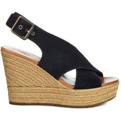 Sandales cuir Harlow Blk - Ugg - Modalova