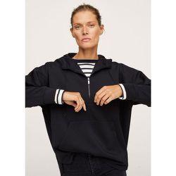 Sweat-shirt zippé à capuche - Mango - Modalova
