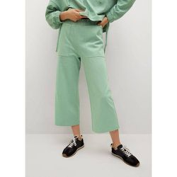Pantalon coton à poches - Mango - Modalova