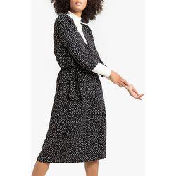 Robe effet portefeuille imprimée pois, en jersey - LA REDOUTE COLLECTIONS - Modalova