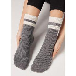 Chaussettes antidérapantes avec cachemire et laine - CALZEDONIA - Modalova