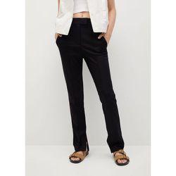 Pantalon Bob straight-fit délavé foncé - Mango - Modalova