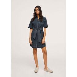 Robe à coutures contrastantes - Mango - Modalova