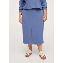 Jupe taille élastique - Mango - Modalova
