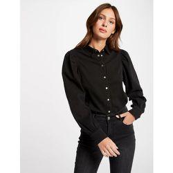 Chemise manches longues en jean - Morgan - Modalova
