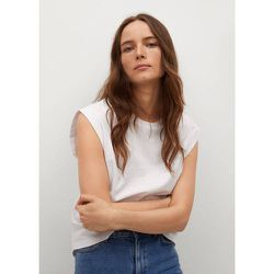 T-shirt sans manches coton - Mango - Modalova