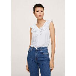 T-shirt coton à volants - Mango - Modalova