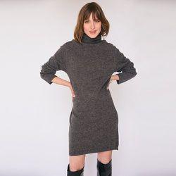 Robe en maille col roulé manches longues - MOLLY BRACKEN - Modalova