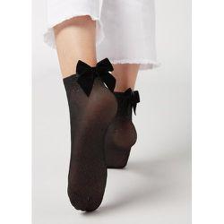 Chaussettes voile avec applications luxueuses - CALZEDONIA - Modalova