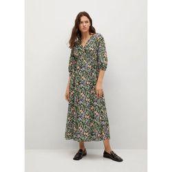 Robe à fleurs - Mango - Modalova