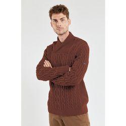 Pull col châle en laine maille torsadée - ARMOR-LUX - Modalova