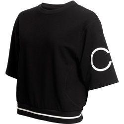 Sweat à col rond, manches courtes - Calvin Klein - Modalova