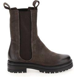 Boots chelsea montantes cuir - MJUS - Modalova