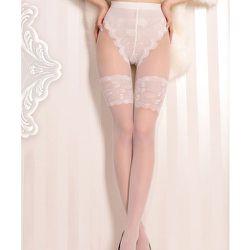 Collant lycra effet bas et culotte 20d 377 - Ballerina - Modalova