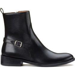 Boots en cuir lisse à boucle métal - ANTHOLOGY PARIS - Modalova