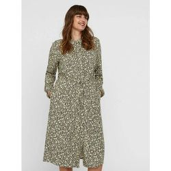 Robe Chemise - Vero Moda Curve - Modalova