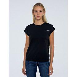 T-shirt en coton, logo devant - Pepe Jeans - Modalova