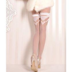 Bas couture autofixants en lycra 20d 375 - Ballerina - Modalova
