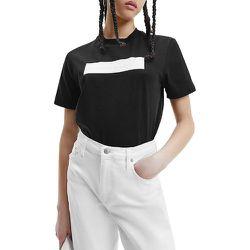 Tee shirt manches courtes bande logo HERO - Calvin Klein - Modalova