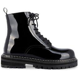Boots cuir à lacets Reine - LES TROPEZIENNES PAR M BELARBI - Modalova