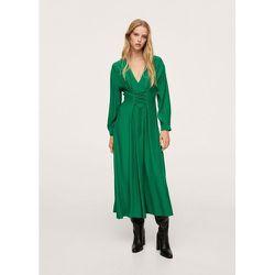 Robe à motif corset - Mango - Modalova
