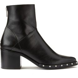 Boots cuir à talons Dacca - JONAK - Modalova