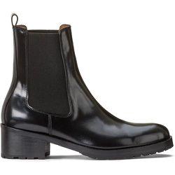 Boots en cuir à talon large CHELSEA - ANTHOLOGY PARIS - Modalova