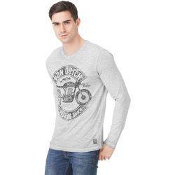 T-shirt Col V Olive Imprimé - Von Dutch - Modalova