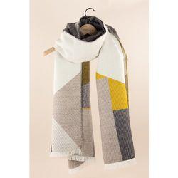 Echarpe multicolore en laine mélangée - SESSUN - Modalova
