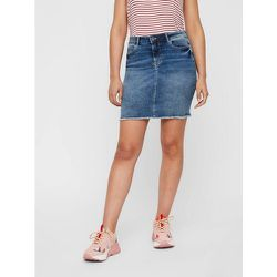 Mini-jupe En jean - Pieces - Modalova