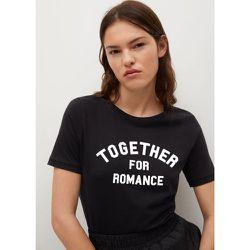 T-shirt en coton imprimé - Mango - Modalova