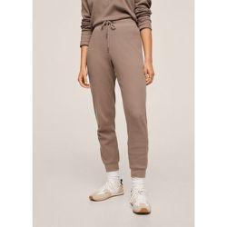 Pantalon jogging texturé - Mango - Modalova