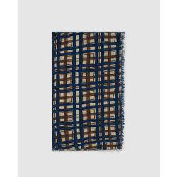 Foulard à carreaux contrastants - SOUTHERN COTTON - Modalova