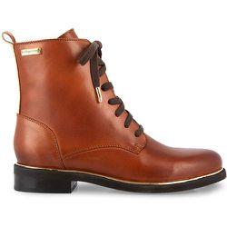 Boots cuir à lacets Mathilde - LES TROPEZIENNES PAR M BELARBI - Modalova
