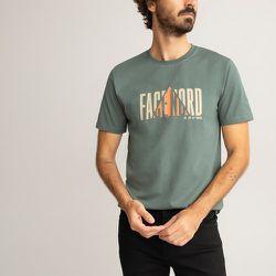 T-shirt col rond imprimé - LA REDOUTE COLLECTIONS - Modalova