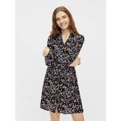 Robe-chemise Lien à nouer à la taille - Pieces - Modalova