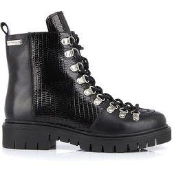 Boots cuir à lacets Zantis - LES TROPEZIENNES PAR M BELARBI - Modalova