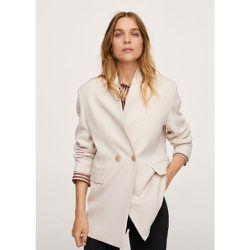 Manteau style blazer - Mango - Modalova