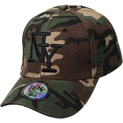 Casquette NY camouflage - CHAPEAU-TENDANCE - Modalova