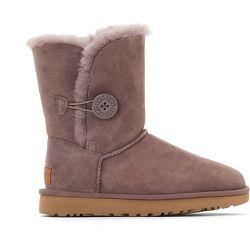 Boots croûte de cuir vachette - Ugg - Modalova