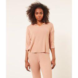 Haut de pyjama manches longues côtelé CARLSON - ETAM - Modalova
