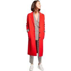 Manteau long et col tailleur en laine - BURTON OF LONDON - Modalova