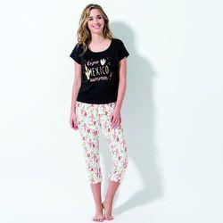 Pyjama corsaire en coton Cactu - MELISSA BROWN - Modalova