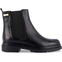 Boots chelsea cuir Selma - LES TROPEZIENNES PAR M BELARBI - Modalova