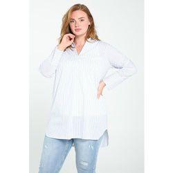 Chemise longue à rayures col chemise manches longues - PAPRIKA - Modalova