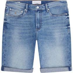 Short en jean coton - Calvin Klein - Modalova